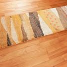 アマレランドスケープ・黄色・白・原毛・風景・羊・木・廊下敷き・使用イメージ画
