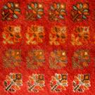 シラーズ・271×177・赤色・リビングサイズ・アップ画