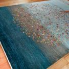 ルリバフ・大型ルームサイズ・青色、グラデーション・生命の樹・使用イメージ画