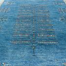 アマレ・大型ルームサイズ・青色・生命の樹・アップ画