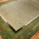 アマレ・大型ルームサイズ・緑色・木、花・使用イメージ画