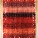 アマレ・リビングサイズ・赤色・グラデーション・生命の樹・花・真上画