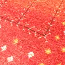 アマレ・リビングサイズ・赤色・グラデーション・生命の樹・花・アップ画