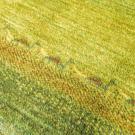 シャクルー・リビングサイズ・緑色・グラデーション・ラクダ、草花・アップ画