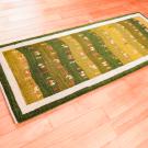アマレ・その他サイズ・緑色・グラデーション・ラクダ、鹿、草花・使用イメージ画