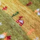 アマレ・その他サイズ・緑色・グラデーション・ラクダ、鹿、草花・アップ画