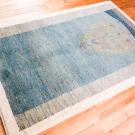 アマレ・センターラグサイズ・青色・生命の樹・使用イメージ画