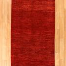 アマレ・242×82・赤色・シンプル・キッチンサイズ・廊下敷き・真上画