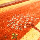 カシュクリランドスケープ・115×78・赤色・生命の樹・風景・玄関マットサイズ・アップ画