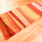カシュクリランドスケープ・200×79・赤色・ラクダ・風景・木・キッチンマット・廊下敷き・使用イメージ画