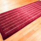 カシュクリ・241×84・赤紫・生命の樹・キッチンマット・廊下敷き・使用イメージ画