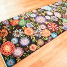 ルリバフ・215×80・花・カラフル・キッチンマット・廊下敷き・使用イメージ画