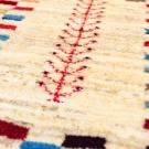 アマレランドミニ・39×39・白色・原毛・カラフル・生命の樹・アップ画