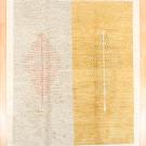 アマレ・247×205・白原毛・生命の樹・小花柄・大型ルームサイズ・真上画