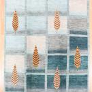 アマレ・246×208・青・糸杉・大型ルームサイズ・真上画
