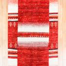 アマレ・185×120・赤色・白原毛・生命の樹・センターラグサイズ・真上画