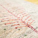 アマレ・247×205・白原毛・生命の樹・小花柄・大型ルームサイズ・アップ画