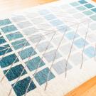 アマレ・189×121・生命の樹・青緑・センターラグサイズ・使用イメージ画