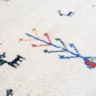 アマレ・189×118・白原毛・生命の樹・糸杉・ラクダ・鹿・センターラグサイズ・アップ画