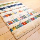 アマレ・91×59・白原毛・羊・木・玄関サイズ・使用イメージ画