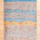 カシュクリ・90×63・水色・羊・風景・玄関サイズ・真上画