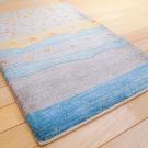 カシュクリ・90×63・水色・羊・風景・玄関サイズ・使用イメージ画