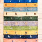 アマレ・89×59・カラフル・鹿・木・玄関サイズ・真上画