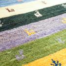 アマレ・89×59・カラフル・鹿・木・玄関サイズ・アップ画