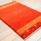 アマレ・90×59・赤色・鹿・木・玄関サイズ・使用イメージ画