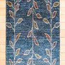アマレ・94×65・青緑・葉・木・玄関サイズ・真上画