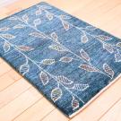 アマレ・94×65・青緑・葉・木・玄関サイズ・使用イメージ画
