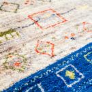 アマレ・92×58・ラクダ・原毛・羊・青色・玄関サイズ・アップ画